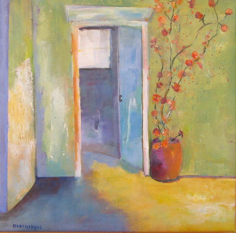 Ann Hart Marquis-Old Blue Door