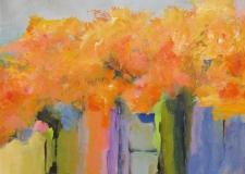 Ann Hart Marquis-Autumn Road to Taos #2