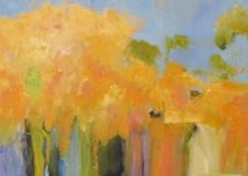 Ann Hart Marquis-Autumn Road to Taos