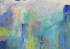 Ann Hart Marquis-Climbing Up the Blue