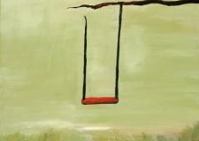 Ann Hart Marquis-Red Swing