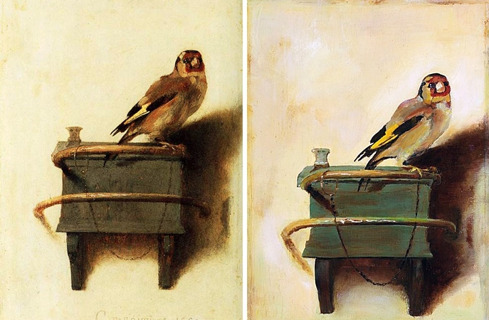 CarelFabritius The Goldfinch copy Imitation of a Masterpiece