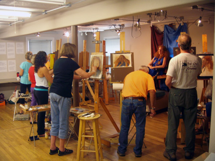 Students3W New Mexico Art League Past, Present and Future