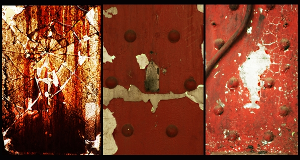 Triptych AHM 2  Abstract Photography
