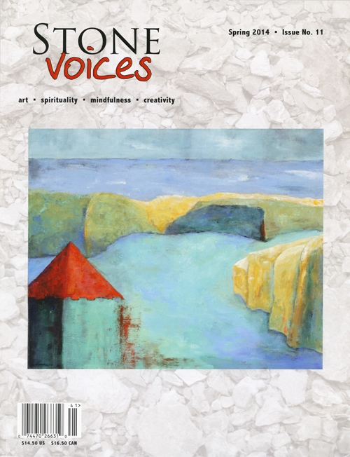AnnHartMarquis Stone Voices cover Im on the Cover of Stone Voices!