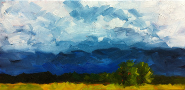 Oklahoma Afternoon oil 10x20 600x294 A Sense of Place