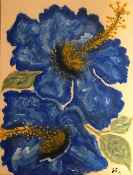 Pretty in Blue Jeannette D. Sanchez 454x600 Painting for the Complete Beginner, Summer