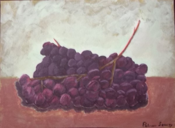 Red GRapes Patricia Lowrey copy 600x441 Painting for the Complete Beginner, Summer