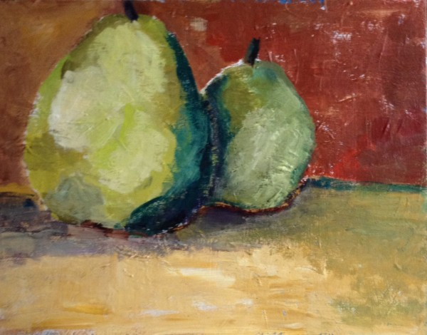 SylviaLippmann Unexpected Pears 600x470 Total Immersion Painting
