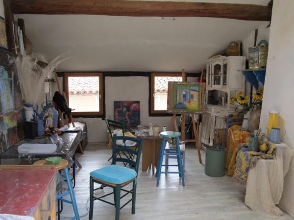 Third floor studio copy 600x450 Rooftops of Soréze.