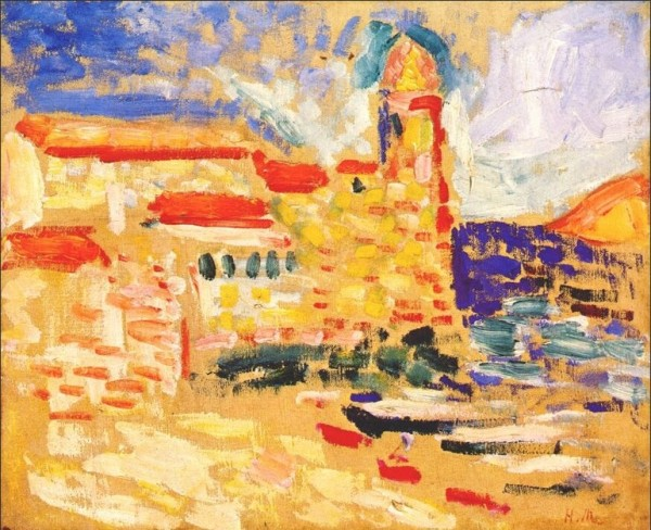 View of Collioure The Bell Tower 1905 copy 600x488  A Change of Scenery