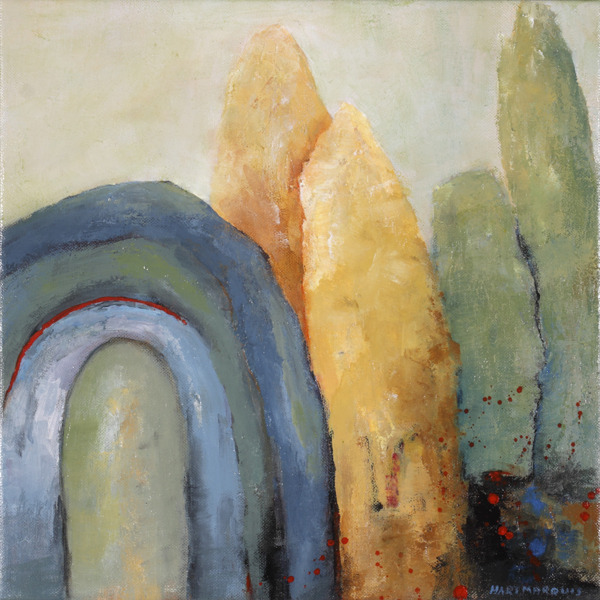 ann hart marquis Cave Without Time II 600x600 Painting Retreat, II