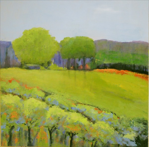 Ann Hart Marquis-Chalk Hill Ridge-sonoma county paintings