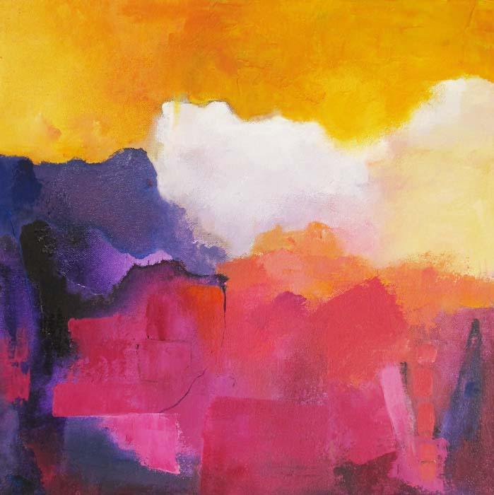 Ann Hart Marquis-Sandia Mountains-Sunset,