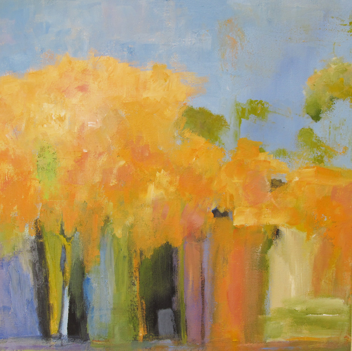Ann Hart Marquis-Autumn Road to Taos