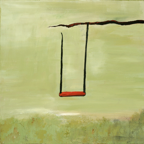 Ann Hart Marquis-Red Swing