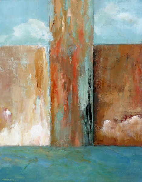 Passage, acrylic on canvas, 16x20. ©2012, Ann Hart Marquis