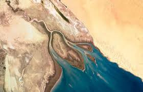 Colorada River Delta, NASA