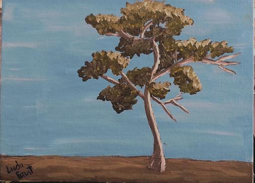 Tree, Linda Faust, 2014