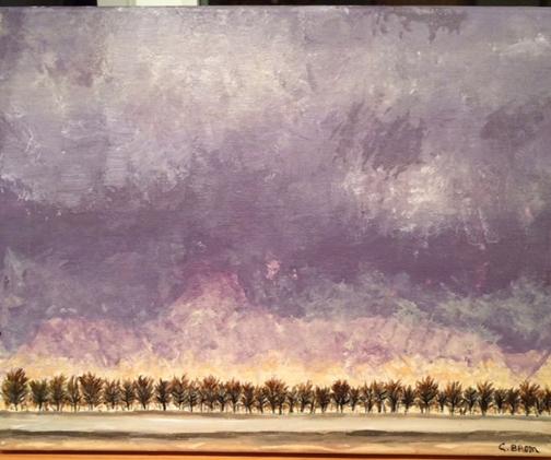 Impending Storm, Camilla Brom, 2014