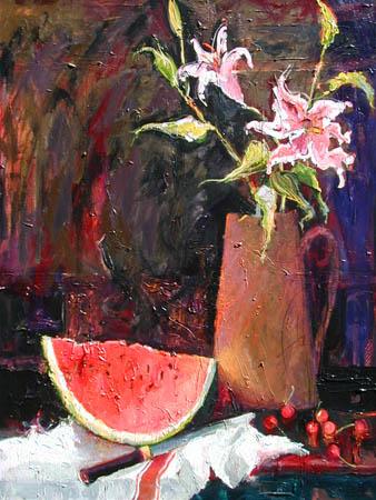 Watermelon Time. © Carole Watanabe