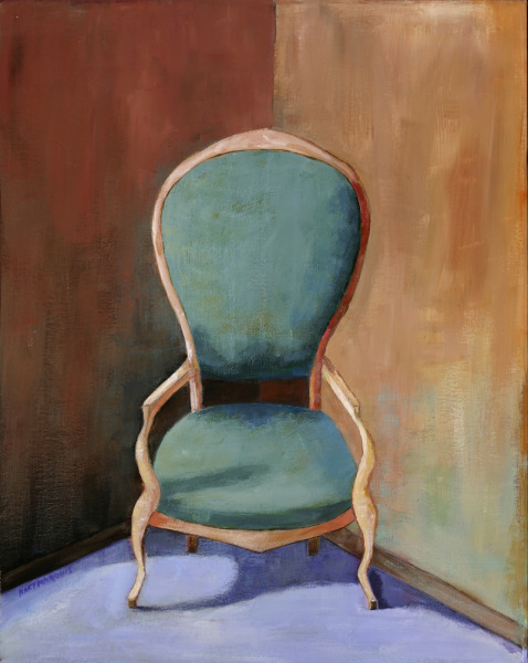Ann Hart Marquis-Green Chair