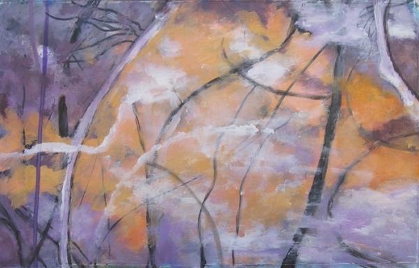Ann Hart Marqui, Limb to Limb, acrylic