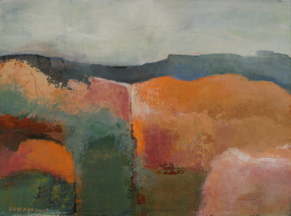 Ann Hart Marquis-New Mexico Winter #5-horizon line