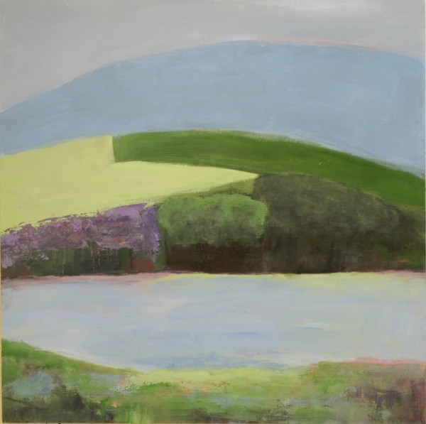 Ann Hart Marquis-Chalk Hill Lake South, sonoma county paintings