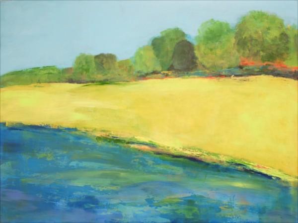 Ann Hart Marquis-Chalk Hill Windsor House Pond-mixing green