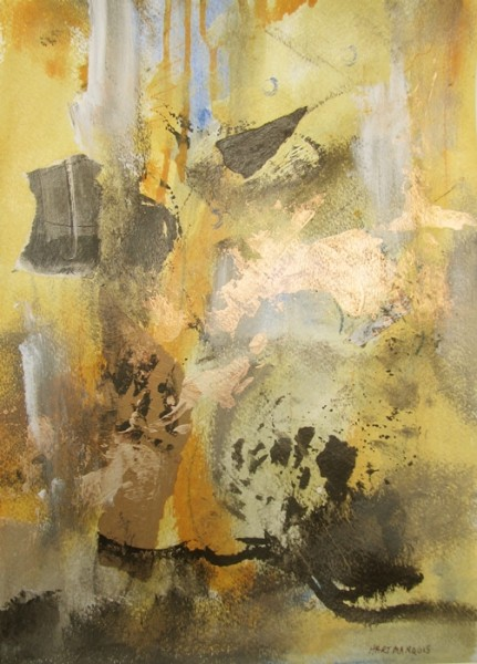 Ann Hart Marquis-abstract 4-interference paint