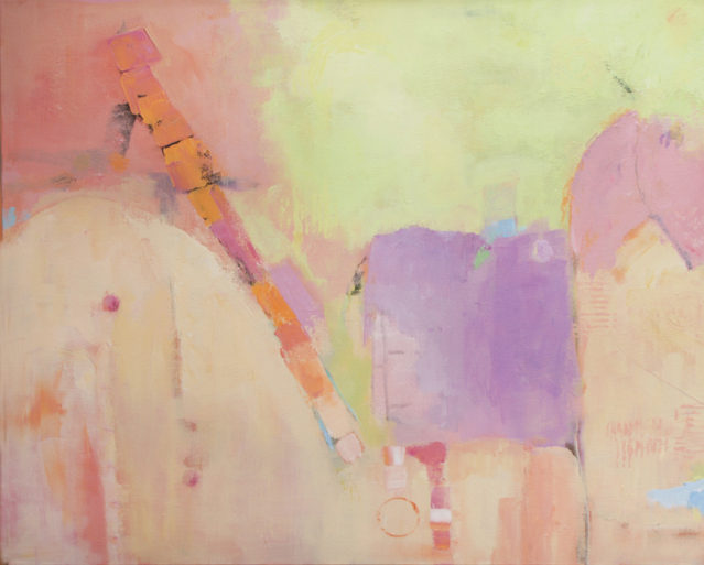 Abstract paintings by Ann Hart Marquis