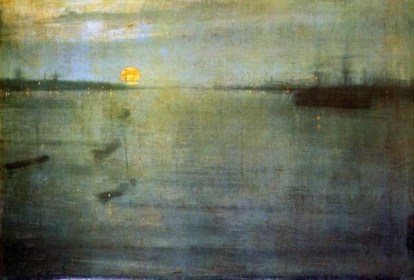 James McNeill Whistler-Nocturn Sun