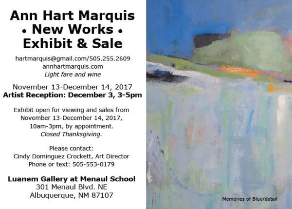 Ann Hart Marquis: Art Show